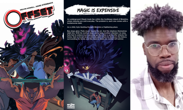 Offset Series Author/Creator Delvin Howell Talks The 2nd Novel, Discoveries & COVID-19
