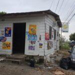 Shopkeeper robbed by four gunmen
