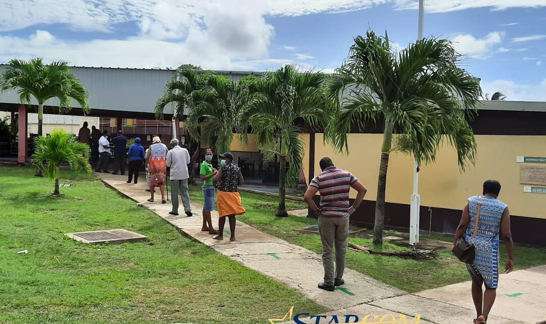 Steady voting reported in St. George North by-election