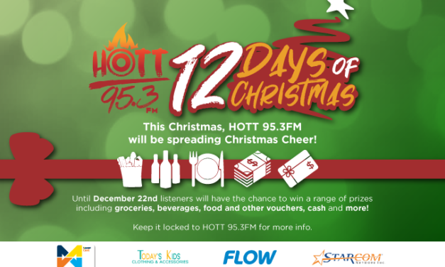 IT'S 12 DAYS OF CHRISTMAS ON HOTT95.3FM!