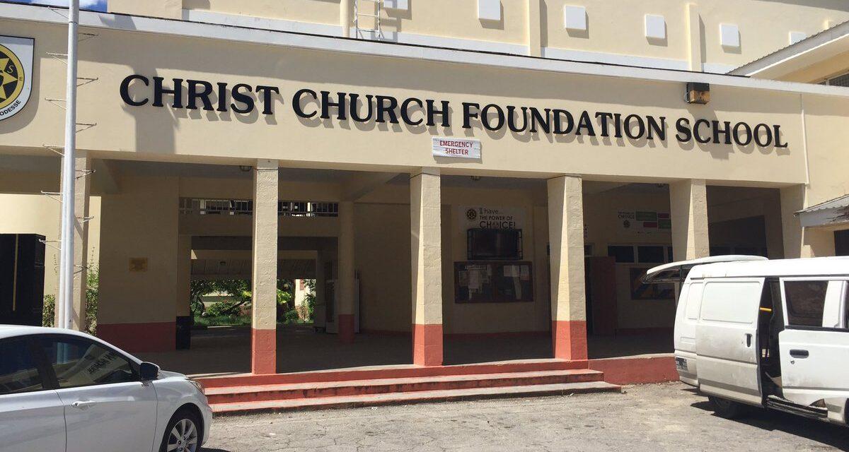 NO POSITIVE TEST AT CHRIST CHURCH FOUNDATION, SAYS PRINCIPAL