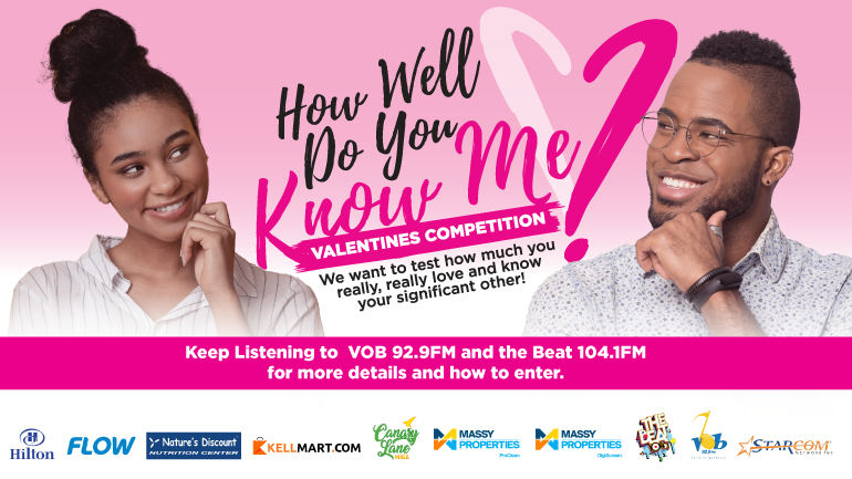 HOW WELL DO YOU KNOW ME – VALENTINES COMPETITION