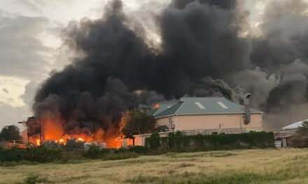 Fire at The Crane Resort