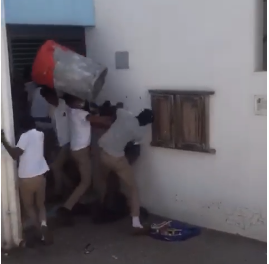 School brawl