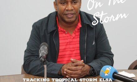 STORM WATCH|| 8am update || Elsa upgrades to cat.1 hurricane