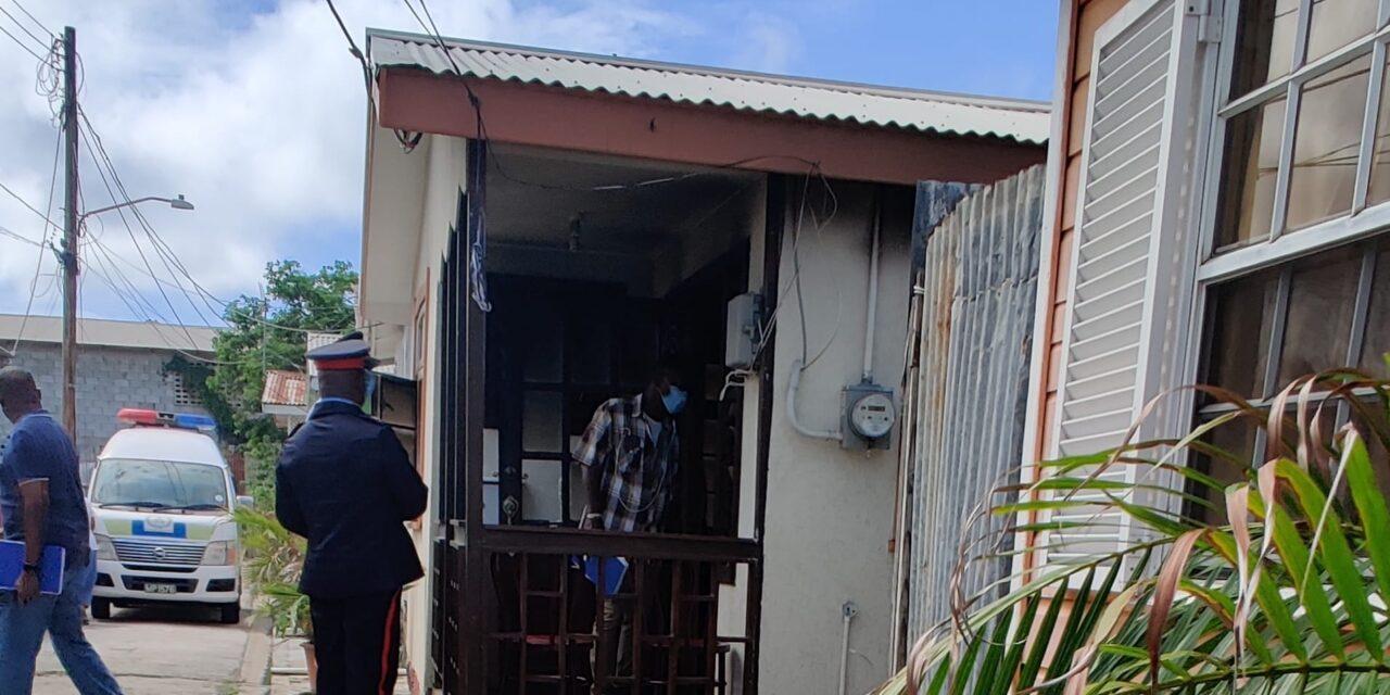 Fire victim dies