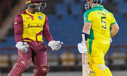 WI vs AUS match suspended due to covid-19 case
