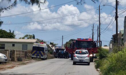 Fatal accident along Pilgrim Road