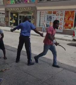 Man arrested after stabbing